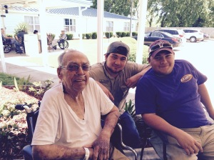 Pops and grandsons