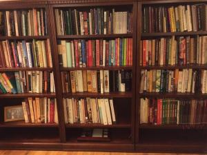 cooking bookshelves
