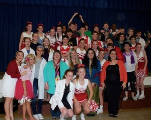 Cast and crew of my latest production, Disneys High School Musical J