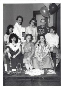 My cast for the second play I directed for CTP, Beth Henleys e Miss Firecracker Contest, 1987