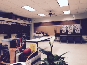 My classroom, end of school year