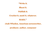 Whedon quote