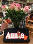 school flowers and tshirt