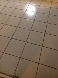 white ceramic floor