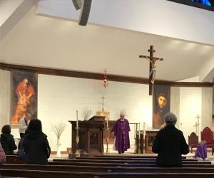 last Mass at SJ covid